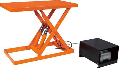【直送】【代引不可】TRUSCO(トラスコ) ピットレスローリフト 250kg 電動式・超低床型 900X600mm FL25-609