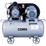 【直送】【代引不可】アネスト岩田 給油式タンクマウントレシプロコンプレッサー 0.75kW 60Hz TLPC07B-10S6