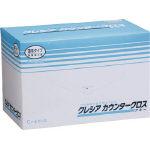 日本製紙クレシア カウンタークロス 薄手タイプ ブルー 100枚X6BOX 65432