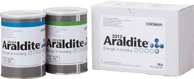 エキポシ接着剤 2012 急速硬化タイプ 2kg 2012-WP Araldite(アラルダイト)