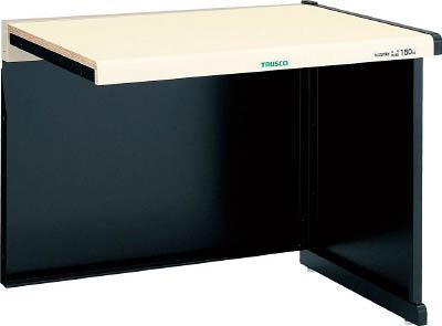 【直送】【代引不可】TRUSCO(トラスコ) ニューラインデスク 増結型 幕板付 間口1200 NLDZ-1200-00B