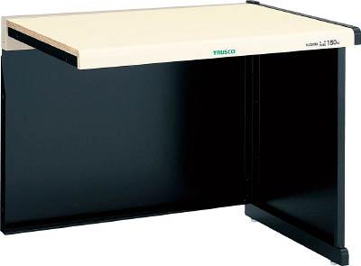 【直送】【代引不可】TRUSCO(トラスコ) ニューラインデスク 増結型 幕板付 間口1800 NLDZ-1800-00B