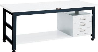 TRUSCO(トラスコ) クリエイティブ作業台 メラミン樹脂天板 1500X750 引出3段 UTM-1575D3