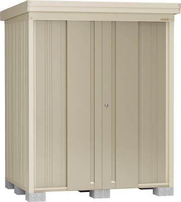 【直送】【代引不可】ダイケン 物置ガーデンハウス 棚板付一般型 1800X1520X2120 DM-J1713