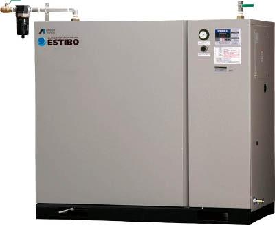 【直送】【代引不可】アネスト岩田 オイルフリーブースターコンプレッサー 5.5kW 50Hz CFBS55-14M5