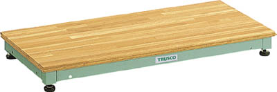 【直送】【代引不可】TRUSCO(トラスコ) 低床用木製ステップ 0.09~0.12m UFS-0945N