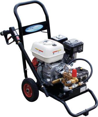 【直送】【代引不可】スーパー工業 エンジン式高圧洗浄機 コンパクト&カート型 SEC-1315-2