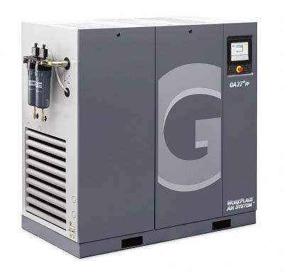 【直送】【代引不可】TRUSCO(トラスコ) GAシリーズコンプレッサ 50HZ45KW ドライヤ付 GA45FFA-7.520050 AtlasCopco(アトラスコプコ)