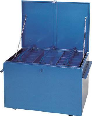 【直送】【代引不可】リングスター 大型車載用工具箱 920X650X610 ブルー GT-10000-B