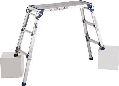 ALINCO(アルインコ) 足場台 天板高さ0.72~1.02m 最大使用質量100kg PXGE-710FK