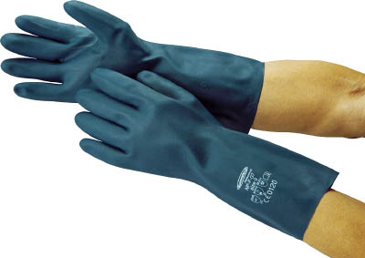 Oil-resistant and solvent resistant gloves SAMTECH NP-F-07 M dark blue 4485 Summitech (SAMTECH)