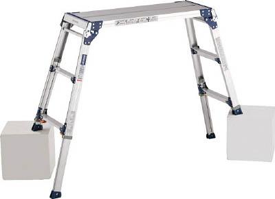 ALINCO(アルインコ) 足場台 天板高さ0.72~1.02m 最大使用質量100kg PXGE-712FK