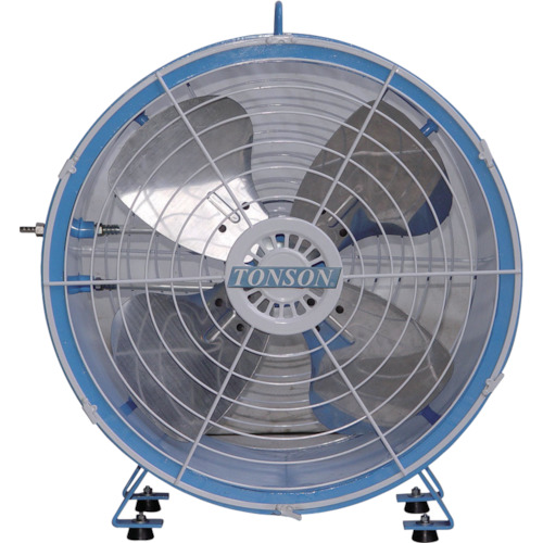 【50%OFF】 アクアシステム AFR-18:工具屋のプロ 送風機 店 エアモーター式 軸流型 アルミハネ45cm-DIY・工具