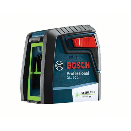 BOSCH(ボッシュ) クロスラインレーザー グリーンレーザー + エボルタ乾電池セット GLL30GSET