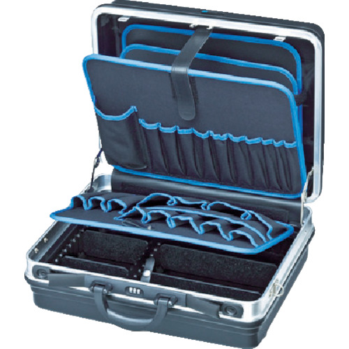 KNIPEX(クニペックス) ツールケースベーシック W440xH180xD350mm 耐荷重15kg 002105LE