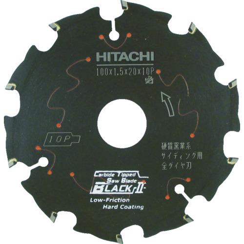 日立工機 スーパーチップソー 全ダイヤ ブラック2 100mm 0033-6994