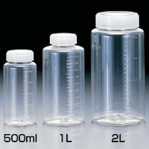 春夏新作モデル 100ml 2013:工具屋のプロ クリアー広口ボトル 200本入 サンプラテック 店-DIY・工具