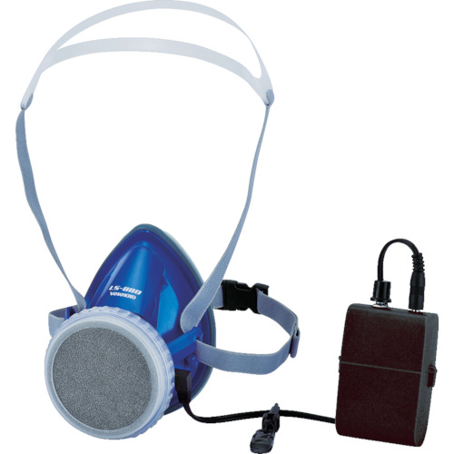 スワン(山本光学) 電動ファン付呼吸用保護具 LS-880