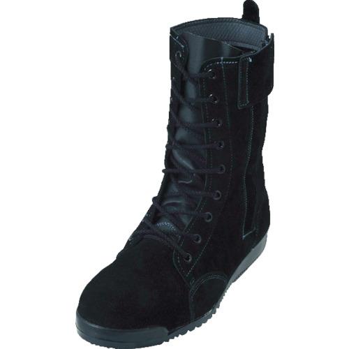 ノサックス 高所作業用安全靴 みやじま鳶 M207床革 25.5cm M207-T-255