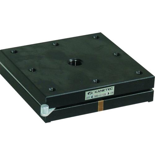 カネテック 薄型永磁ホルダ台 角形 125X125 MB-L-125