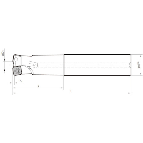 京セラ ミーリング用ホルダ MFH25-S25-10-2T-200