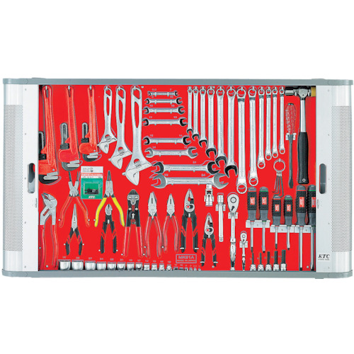 【直送】【代引不可】KTC(京都機械工具) メカニキット(一般機械整備向) 76点組 MK82