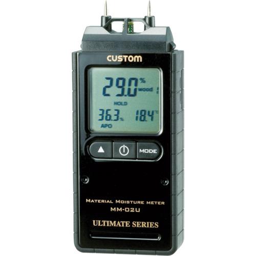 カスタム デジタル水分計 水分率・温度・湿度 MM-02U