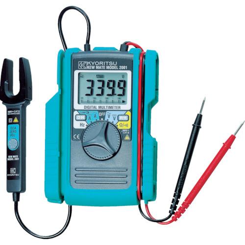 KYORITSU(共立電気計器) AC/DCクランプ付デジタルマルチメータ MODEL2001
