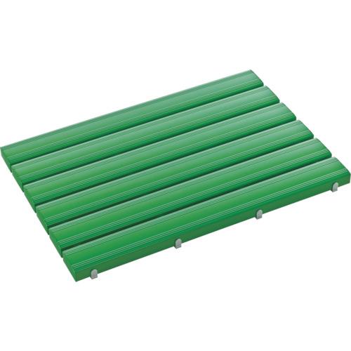 テラモト 抗菌安全スノコ 600×1160mm 緑 組立品 MR-093-342-1