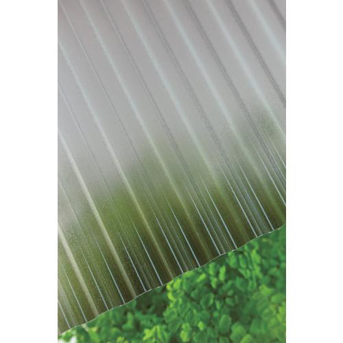 【直送】【代引不可】タキロン ポリカ波板 32波 6尺 850ブロンズマット 10枚 217613