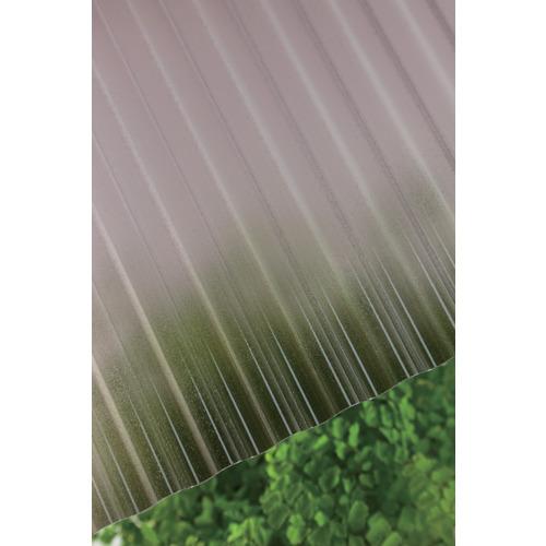 【直送】【代引不可】タキロン ポリカ波板 32波 8尺 850ブロンズマット 10枚 217811