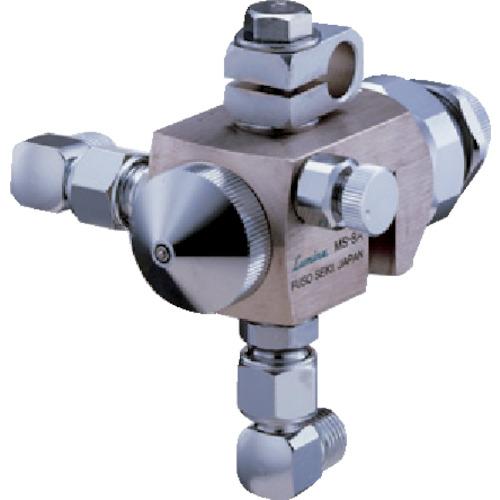 扶桑精機 ルミナ 自動スプレーガン φ2.0 広角丸吹き・高粘度液用 エア兼用型 MS-8A-2.0