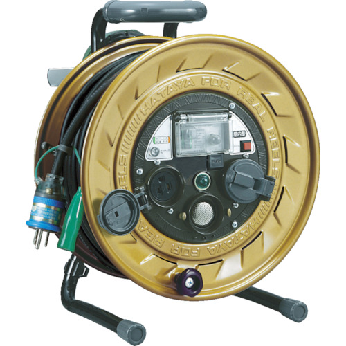 ハタヤリミテッド メタルセンサー(金属感知機能付)リール 単相100V接地付 30m MSB-301KX