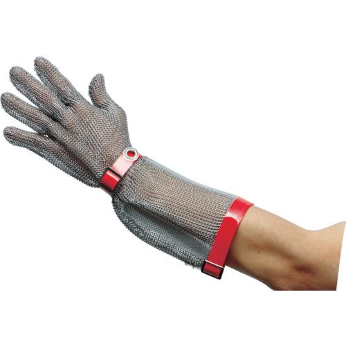 ミドリ安全 ステンレス製 耐切創手袋ロング L MST-550-L