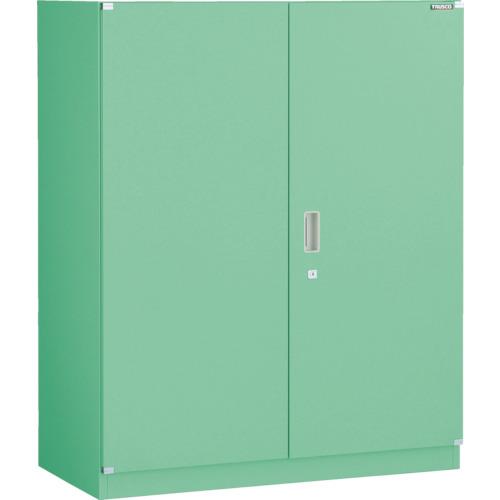 【直送】【代引不可】TRUSCO(トラスコ) MU型工場用システム保管庫 900X450X1110 両開き ベース付 MUH-11B