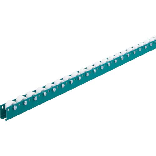 三鈴工機 単列型樹脂ホイールコンベヤ 径46XT17XD8 ピッチ75 1800mm MWR46T-0718