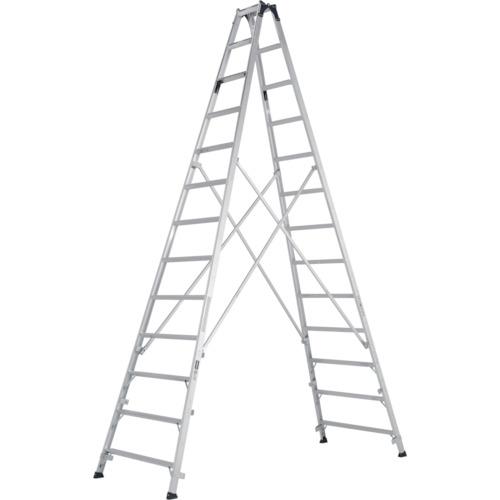 【直送】【代引不可】ALINCO(アルインコ) 幅広踏ざん60mm長尺専用脚立 MXB390F