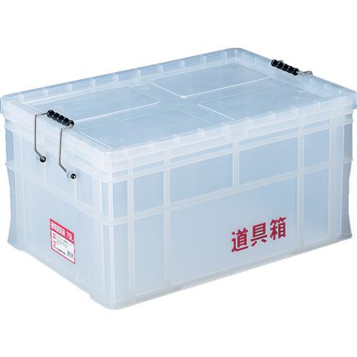 リス(岐阜プラスチック工業) 透明道具箱 75L N-75L