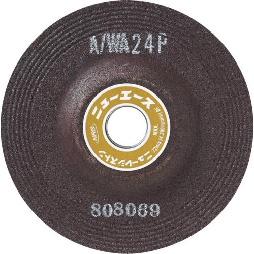 NRS(ニューレジストン) オフセット砥石 ニューエース 180×6×22 WA24P 25枚 NA1806-WA24P