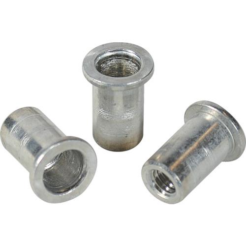 ロブテックス(エビ) エビナット 平頭 アルミニウム M4板厚0.5~1.5 1000本入 NAD415M
