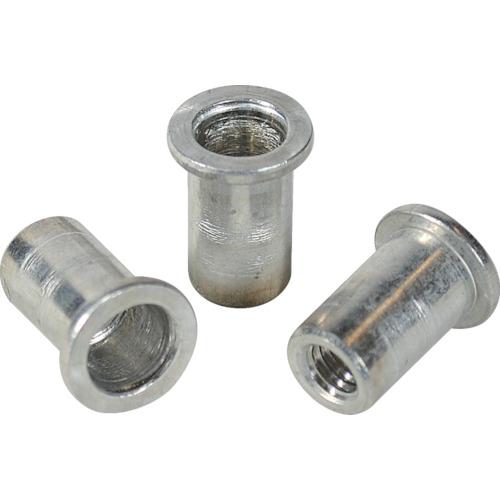ロブテックス(エビ) エビナット 平頭 アルミニウム M4板厚1.5~2.5 1000本入 NAD425M
