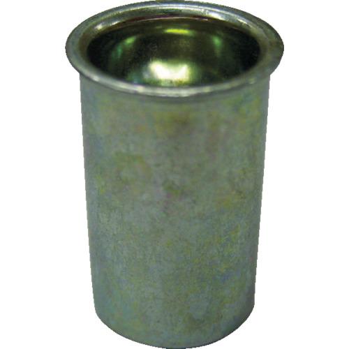 ロブテックス(エビ) エビナット 薄頭 アルミニウム M5板厚2.5~3.5 1000本入 NAK535M