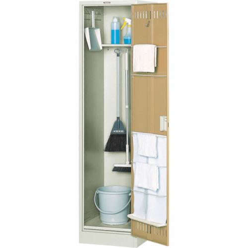 【直送】【代引不可】TRUSCO(トラスコ) 掃除用具庫棚付 W455XD515XH1790 NCS