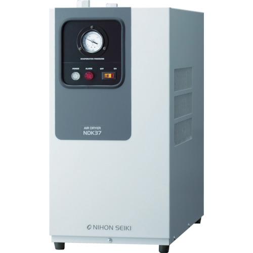 【直送】【代引不可】日本精器 高入気温度型冷凍式エアドライヤ 3HP用 NDK-22
