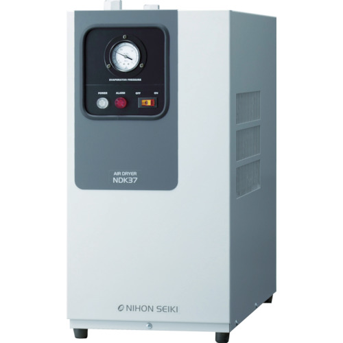 【直送】【代引不可】日本精器 高入気温度型冷凍式エアドライヤ 5HP用 NDK-37