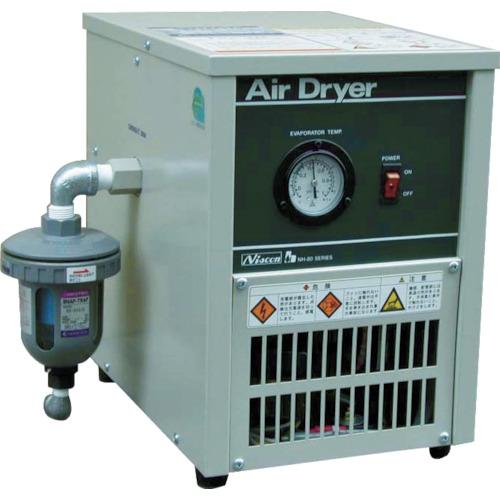【直送】【代引不可】日本精器 冷凍式エアドライヤ 7.5HP NH-8018N