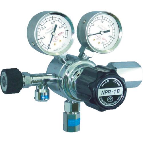 ヤマト産業 分析機用圧力調整器 ヘリウム NPR1BTRC13