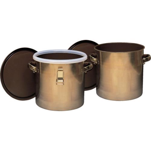 テフロン フッ素樹脂コーティング密閉タンク(金具付) 膜厚約50μ 7L NR0378-001