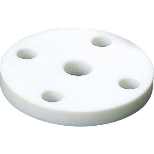 フロンケミカル フッ素樹脂(PTFE)フランジ 15AX10KXRC1/4 NR1405-010