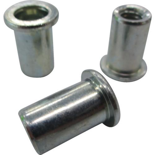ロブテックス(エビ) エビナット 平頭 スティール M6板厚2.5~4.0 1000本入 NSD640M